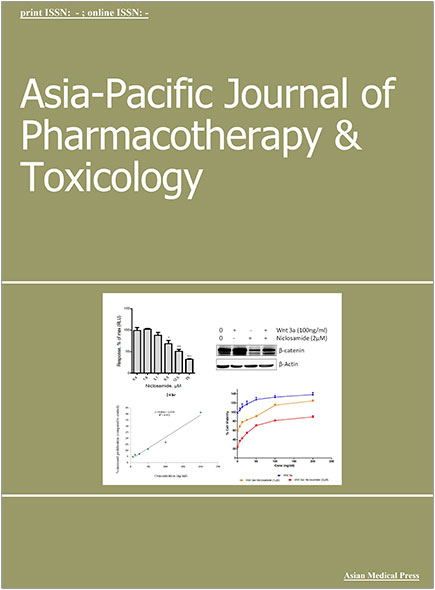 Asia-Pacific Journal of Pharmacotherapy & Toxicology